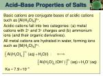 acid base properties of salts5