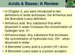 acids bases a review