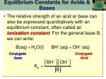 equilibrium constants for acids bases3
