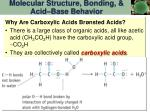 molecular structure bonding acid base behavior2