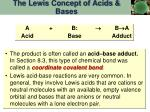 the lewis concept of acids bases1