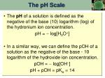 the ph scale1