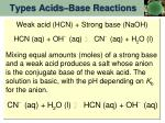 types acids base reactions1