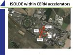 isolde within cern accelerators