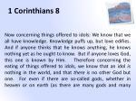 1 corinthians 8