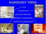 radiology tools