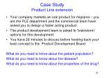 case study product line extension1