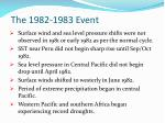 the 1982 1983 event