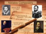 notable composers