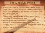 the medieval period1