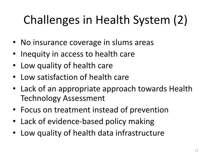 Challenges in Health System (2)