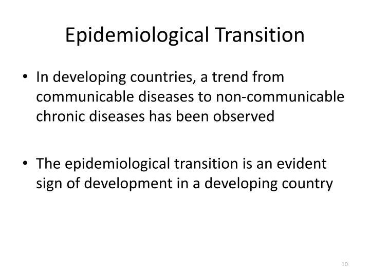 Epidemiological Transition