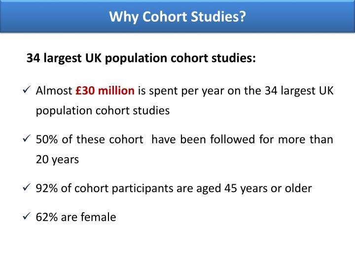 Why Cohort Studies?