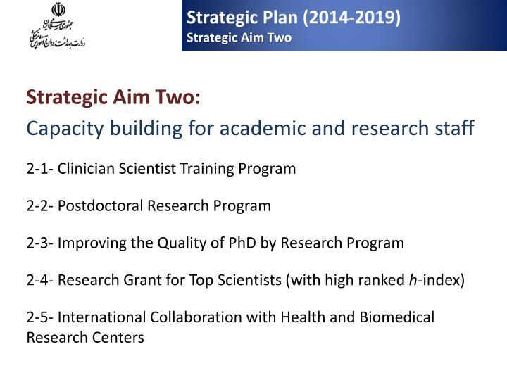 Strategic Plan (2014-2019)