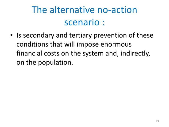 The alternative no-action