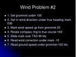 wind problem 21
