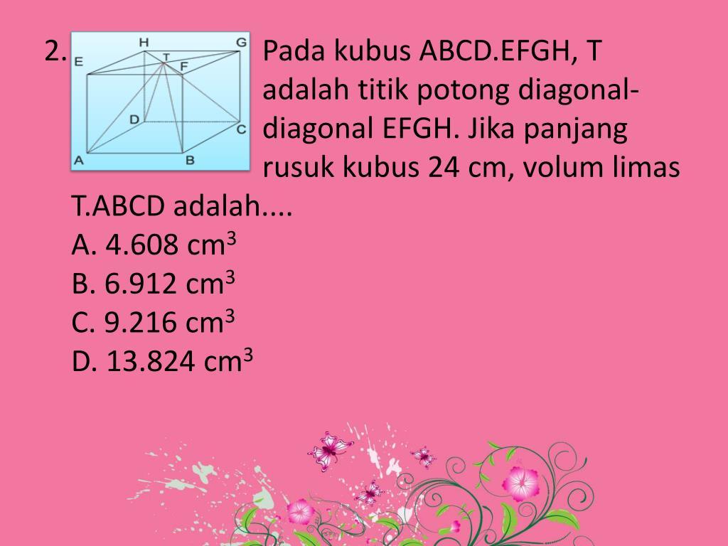 PPT - Bangun Ruang PowerPoint Presentation, free download ...