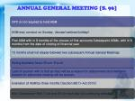 annual general meeting s 96