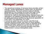 managed lanes11
