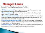 managed lanes33