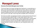 managed lanes35
