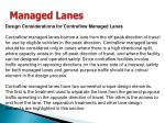 managed lanes39