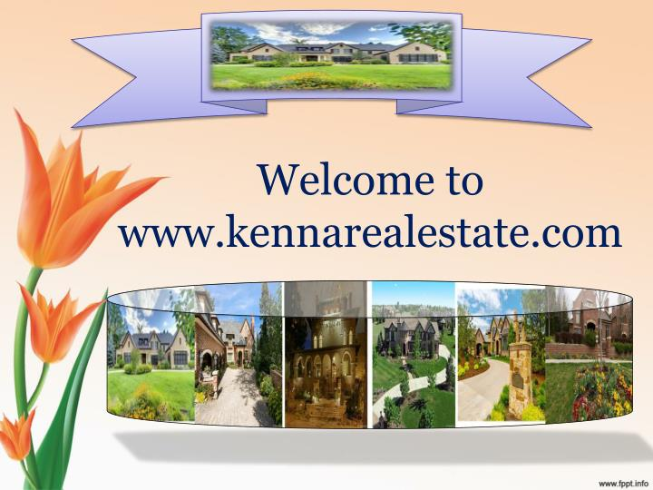 welcome to www kennarealestate com n.