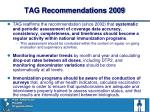 tag recommendations 2009