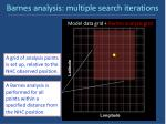 barnes analysis multiple search iterations1