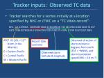 tracker inputs observed tc data
