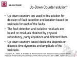 up down counter solution 4