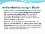 analisa dan perancangan sistem3