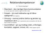 relationskompetencer fra netv rkskogebogen