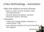 a new methodology automation1