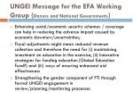 ungei message for the efa working group donors and national governments2