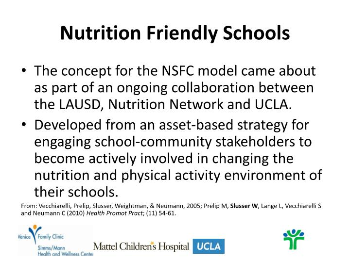 Nutrition Friendly Schools