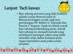 lanjoet yach kawan