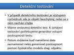 detek n testov n