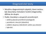 diagnostick testy9