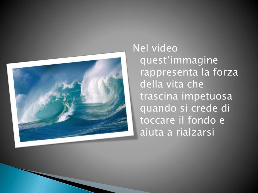 Ppt La Forza Della Vita Powerpoint Presentation Free Download