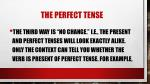 the perfect tense12