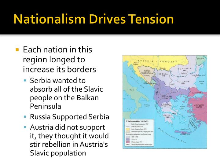 Nationalism drives tension