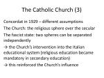the catholic church 3