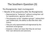 the southern question 3