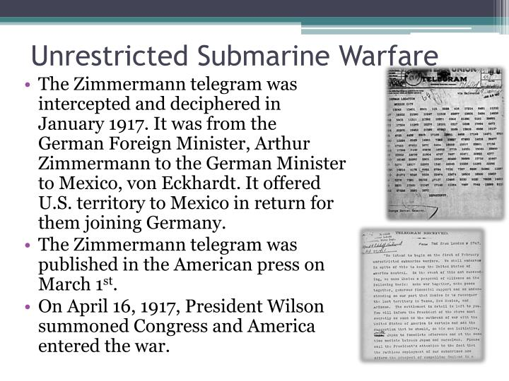 Unrestricted Submarine Warfare