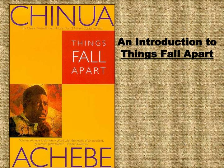 the tragedy of colonization in things fall apart a book by chinua achebe