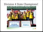 division 4 state champions