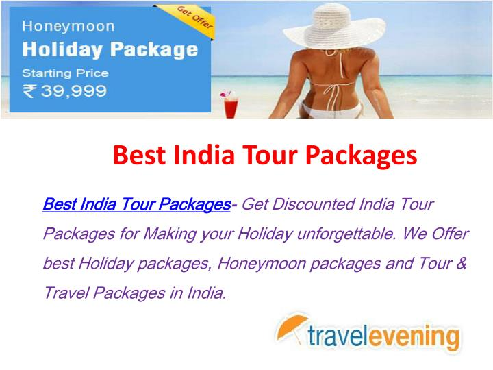 best india tour packages n.