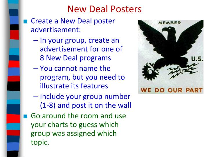 New Deal Posters