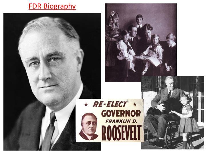 FDR Biography